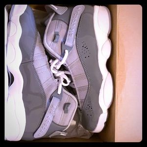 Grey Jordan 6 rings(GS) NEVER WORN